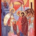 21 Kasım Kutsal Tanrı-doğuran'ın tapınakta sunulması