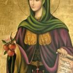 28 Temmuz Azize İrini Hrisovalandu
