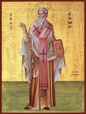 23 Ağustos  Aziz İrineyus, Lyon Metropoliti