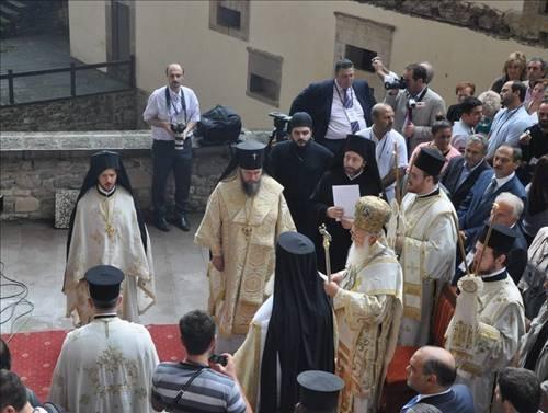 Sümela Manastırı'nda