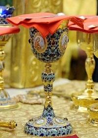 Altın ağızlı Yuhanna'nın Kutsal ayin metni (türkçe-yunanca)