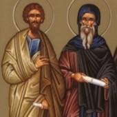 9 Ekim. Alfeyos oğlu kutsal Elçi Yakup ve saygıdeğer babamız Andronikos