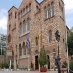 Azizin Kutsal naaşını barındıran Selanik'teki Aziz Dimitrios Kilisesi