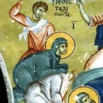 10 Ekim. Kutsal Şehitler Evlambiyos ve kız kardeşi Evlambiya