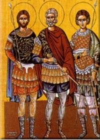 12 Ekim. Kutsal şehitler Probus, Tarahos ve Andronikos