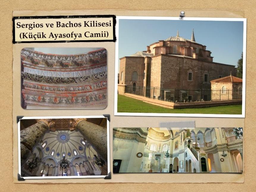 Sergius ve Bakküs Kilisesi (Küçük Ayasofya)