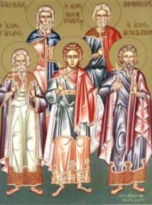 31 Ekim. Yetmişlerden kutsal Elçiler