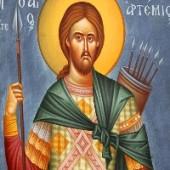 20 Ekim. Kutsal yüce Şehit Artemiyos ve Kefalenya