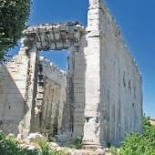 Aziz Clemens Kilisesi (Yeğenbey Camii) yangιn sonrasι kalιntιlarι
