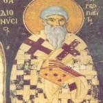 3 Ekim. Kutsal Piskopos ve Şehit Areyopagoslu Diyonisiyos
