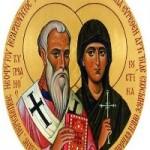 2 Ekim. Kutsal Piskopos Şehit Kipriyan ve kutsal Bakire Şehit Yustina