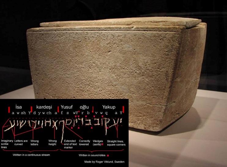 """""""Yusuf Oğlu Yakup, Isa'nın kardeşi"""" latini"""