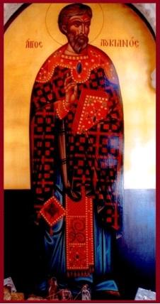 15 Ekim. Antakya Kilisesi'nin ihtiyarlarından kutsal şehit Lukyan