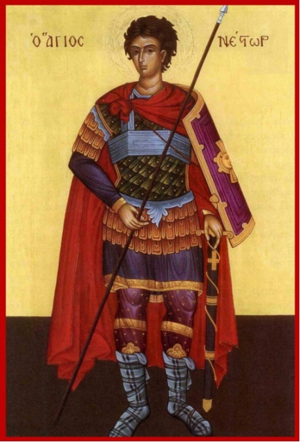27 Ekim. Kutsal Şehit Nestor