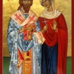 30 Ekim. Kutsal Şehitler Zenovyos ve kız kardeşi Zenovya