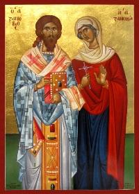 Kutsal Şehitler Zenovyos ve kız kardeşi Zenovya