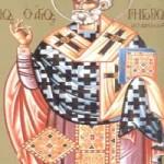 23 Kasım.Akragas piskoposu Gregor ve İkonyumlu (Konyalı) Amfilokyos