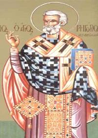 Akragas piskoposu Gregor ve İkonyumlu