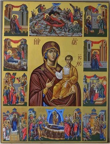 26 Aralık Pek kutsal Tanrıdoğuranın Anılması ve Sardis piskoposu Şehit Efthimiyos