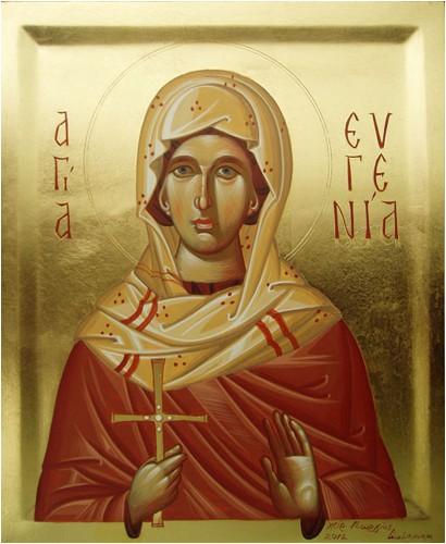 24 Aralık Kutsal Bakire Şehit Evgeniya