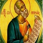 3 Aralık Kutsal Peygamber Sofonyas