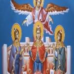 17 Aralık. Kutsal Peygamber Daniyel ve Üç kutsal Genç