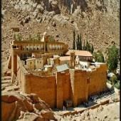 Sina Dağı'ndaki Azize Ekaterini Manastırı