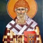 12 Aralık. Kutsallar arasındaki babamız, Kıbrıs'ta Tremithus piskoposu mucize yapıcı Spiridon