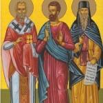 23 Ocak Ankaralı kutsal Piskopos ve Şehit Klement ve kutsal Şehit Agathangelos