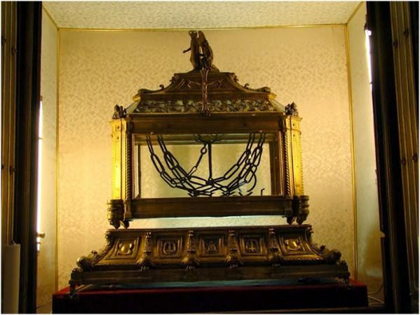 16 Ocak. Kutsal ve tümden övülmüş Elçi Petrus'un değerli Zincirlerine saygı