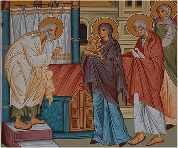 2 Şubat İsa Mesih'in Tapınağa Giriş Bayramı (2 şubat)