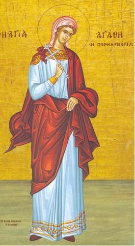 5 Şubat Azize Agathe