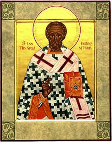 18 Şubat Azizler arasındaki Babamız, Roma'nın Papası Leo