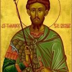 8 Kutsal Yüce Şehit General Theodor ve kutsal Peygamber Zahariyas