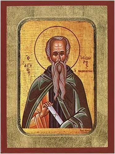4 Şubat Saygıdeğer Babamız Pelusiyum'lu İsidor