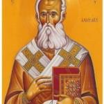 7 Şubat Lambsakus Piskoposu Aziz Partheniyos ve Yunanistan'dan Stiriyonlu saygıdeğer Luka