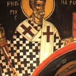 12 Mart Aziz Büyük Gregor (Diyalog Yazarı), Roma Papası