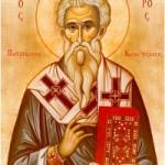 13 Mart Konstantinopolis Patriği Aziz Nikeforos'un Değerli Emanetlerinin Taşınması