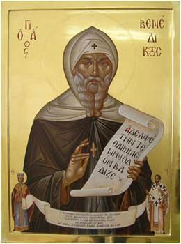 14 Mart Nusiya'lı Başkeşiş Aziz Benedikt