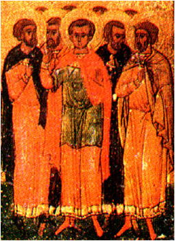 15 Mart Şehit Agapiyus ve beraberindeki yedi kişi