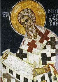 18 Mart Yeruşalim Piskoposu Aziz Kiril