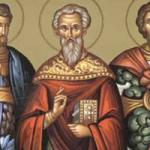 3 Mart Kutsal Şehitler Evtropiyus, Kleonikus ve Vasiliskus.