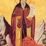 4 Mart Ürdünlü Aziz Gerasimos.