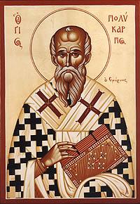 23 Şubat Kutsal Piskopos ve Şehit Polikarpos, İzmir.