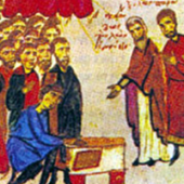 12 Nisan İtirafçı Aziz Vasilios, Parium Piskoposu