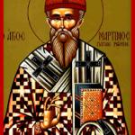 13 Nisan Roma Papası, İtirafçı Aziz Martin