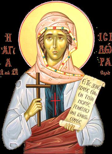 10 Mayıs Mısırlı Mesih divanesi azize İsidora