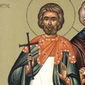 20 Mayıs Kilikya'daki Ege'den Aziz Şehit Thalelavus ve Beraberindekiler