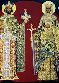 21 Mayıs azizler Konstantinos ve Eleni