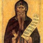 24 Mayıs Kutsal Babamız stilit Nikitas